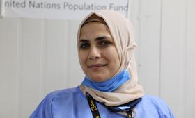 Putting Women First: Rahma, a Dedicated Midwife in Azraq Camp