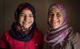 """أم وابنتها تقولان """"لا"""" للزواج المبكر في مخيم الزعتري"""